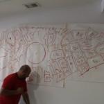 Mural Sketch 3metres width